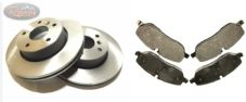 LAND ROVER DISCOVERY 3/4 - TDV6 - REAR DISCS & BRAKE PAD SET - BDR06R
